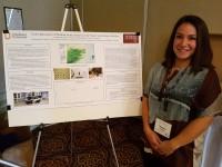 AU Anthropology undergraduate, Megan Williams, presents research