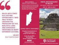 Archaeology Field School in Belize