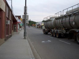 Athabasca high street