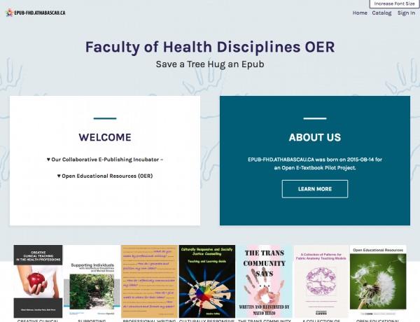 EPUB-FHD homepage