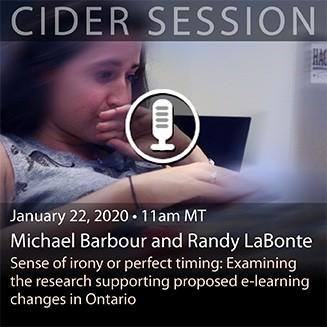 CIDER Session 22 Jan 2020 card