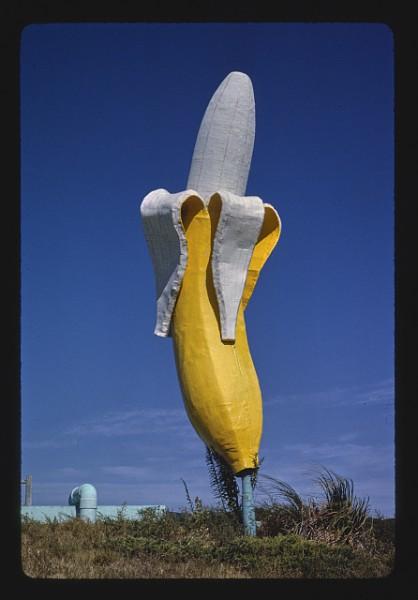 Banana Water Slide banana statue, Virginia Beach, Virginia