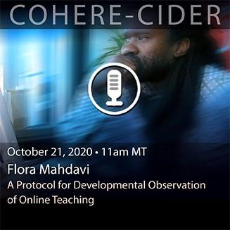 CIDER Session 21 Oct 2020 card