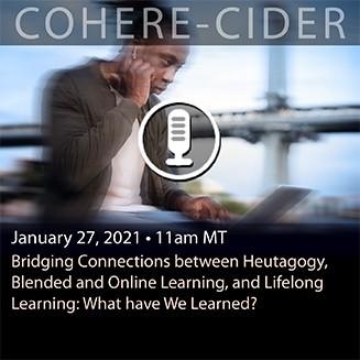 CIDER Session 27 Jan 2021 upcoming