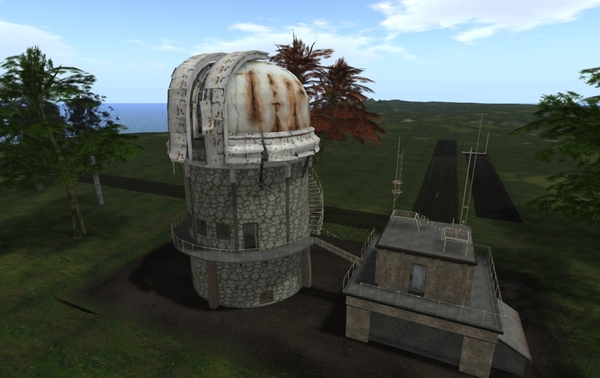 Observatory currently in repair