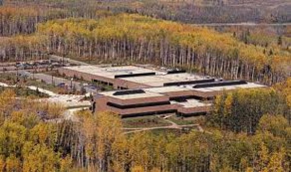 Athabasca Campus in the autumn