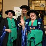 AU's first doctoral graduates