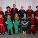 EdD graduates and faculty