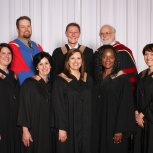 BHRLR graduates and faculty