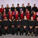 MScIS and BScIS grads, faculty and staff