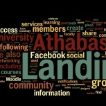 Wordle.net Picture of the Landing