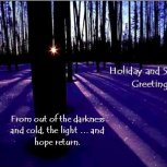 Winter Solstice Greetings