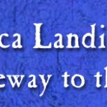 Landing - Gateway to the North Sign